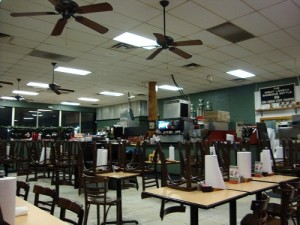 This is the rest of the store.  You can see they were ready for us to leave :-)